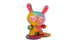 Kidrobot's Dunny Series 2 - Queen Andrea's Hand-Painted Piece