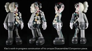 Klav's Disassembled Companion (KAWS Custom), work-in-progress