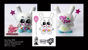 Sket One's Dae Dae Dunny design from Kidrobot's Dunny Series 2, 2005