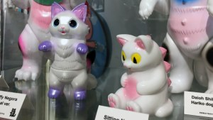 Konatsuya Exhibition - Konatsu's Fluffy Negora Pearl Version & Sitting Negora