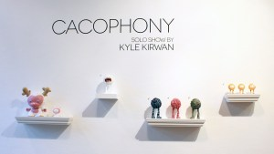Kyle Kirwan's Cacophony - Wall display