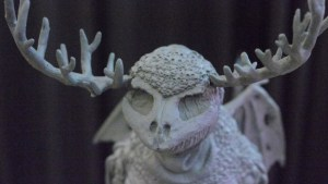 Kyle Kirwan's The Final Willo, prototype sculpt, DCon 2017
