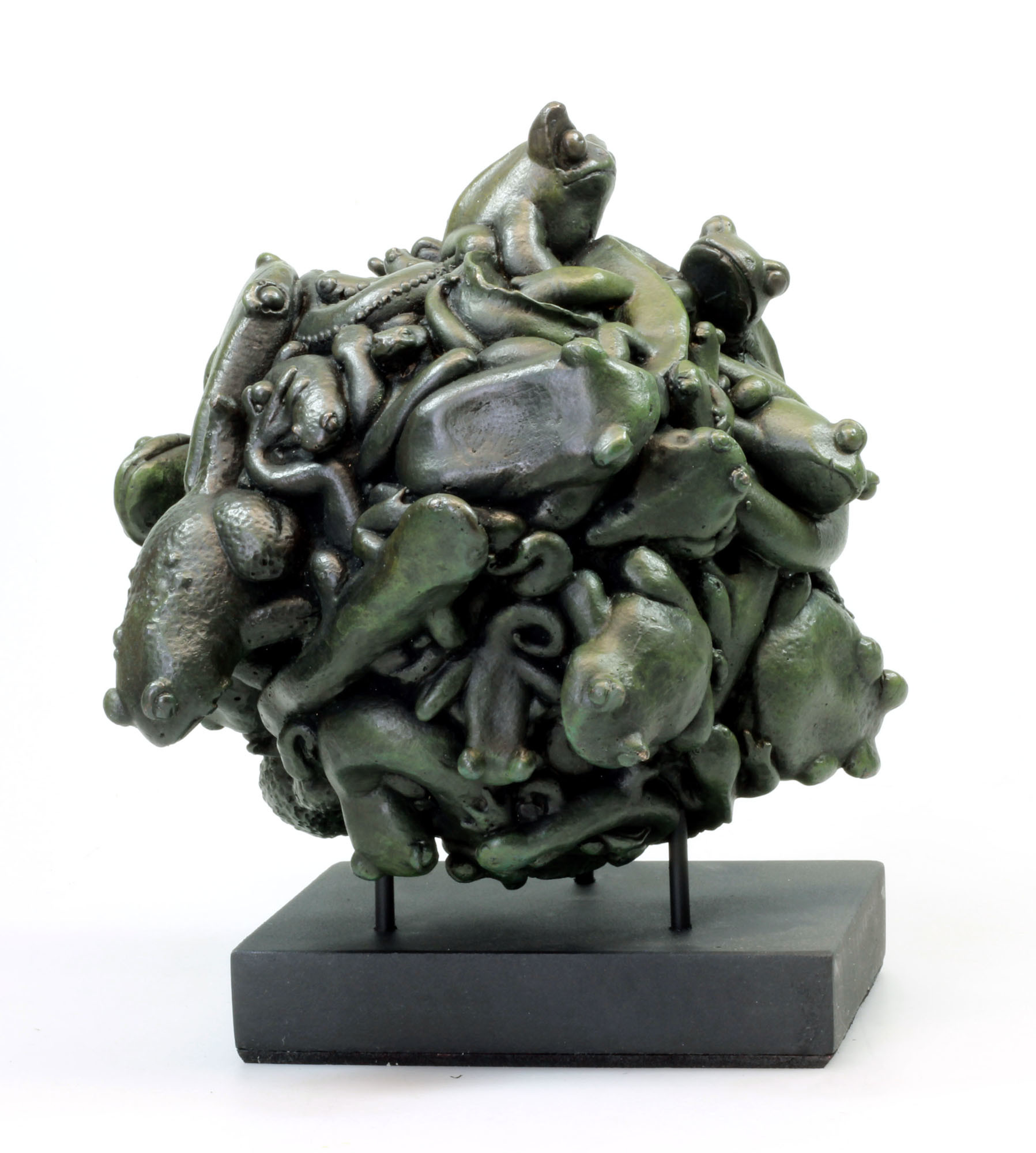 Leslie Levings / Beastlies - Crea Bronze Edition on Stand