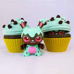MJ Hsu - Delectables Dunny - Minty