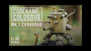 Michael Sng / Machination Studio's Codename: Colossus — Mk.I Cerebus