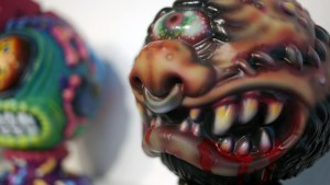 Madballs All-Star Art Jam and Exhibition - Violence Toy's Untitled #2