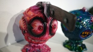 Madballs All-Star Art Jam and Exhibition - Dski One's Oscar Meyers