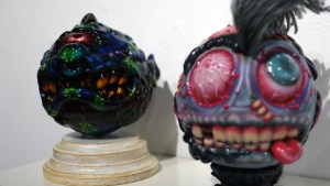 Madballs All-Star Art Jam and Exhibition - Mechavirus' Dot Matrix Type
