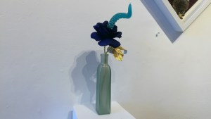Mariangela Tan / plushPLAY's Bloom - Blue Moon Bioluminescent Tentacle Blossom