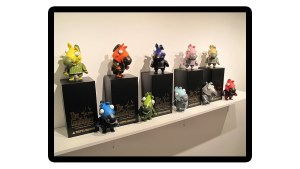 Michael Lau's The Godfather Secret Horse Invasion at TT Underground's The Family Tradition Art Exhibition