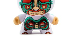 """Mike Fudge's Kuba 5"""" Dunny from Kidrobot, variant white edition"""