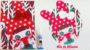 Mia de Milazzo's The Red Lady (Little Red Riding Hood)