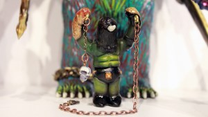 Monstrosities 2018 - Orc Beastmaster with His Charge by Rampage Toys