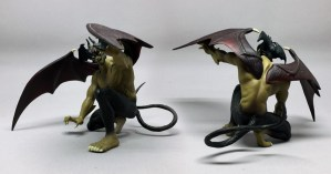 Example of Devilman figure from Dyn, 1999