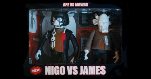 Ape vs Mo'Wax: Nigo vs James vinyl figures