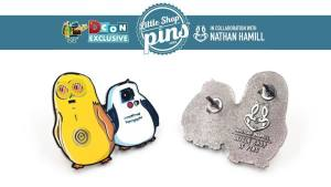 Nathan Hamill & Little Shop of Pins' Drorgs, circa DesignerCon 2018