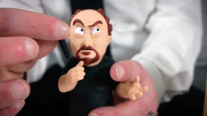 Oasim Karmieh's Louis C.K. Art Toy Microphone Removed