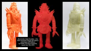 PHASE2's Abomination Deity Guardians (GID Editions) from Unbox Industries