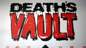 Paul Kaiju's Ring of Fire - Death's Vault Logo