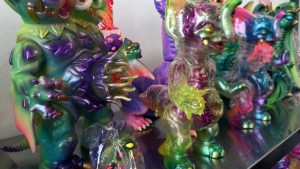 Paul Kaiju's Ring of Fire - Shelf One, Exhibition Overview