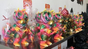 Paul Kaiju's Ring of Fire - Shelf Three, Exhibition Overview