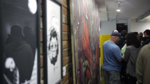Usugrow works & Lango painting at Hyperstoic Returns