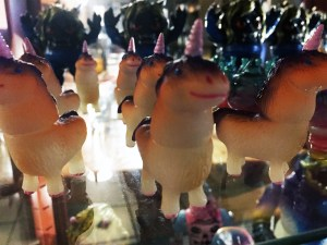 Shaggy Little Unicorns at Rampage Toys' Rampage Kudasai
