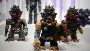 Violence Toy's Trollborg - Nukem at Clutter Gallery's Vinylploitation exhibition