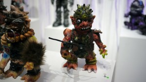 Violence Toy's Trollborg - Desert Drifter at Clutter Gallery's Vinylploitation exhibition