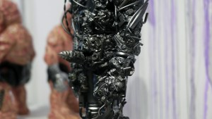 Miscreation Toys' Tetsuo: The Iron Monster at Clutter Gallery's Vinylploitation exhibition