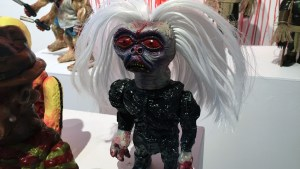 Violence Toy's Asogian Assassin - Funhouse Freak at Clutter Gallery's Vinylploitation exhibition