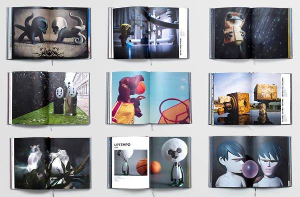Example pages from Roman Shevchenko's My Toys