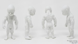 Ron English's Temper Tot - Porcelain Edition from K.olin Tribu