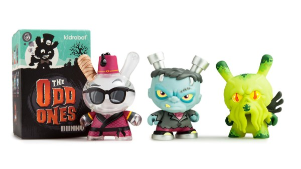 Scott Tolleson's The Odd One Dunny Series from Kidrobot