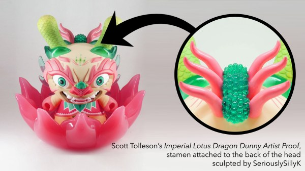 Scott Tolleson & SeriouslySillyK's Imperial Lotus Dragon Dunny Artist Proof