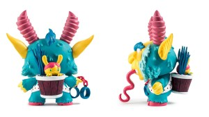 Scott Tolleson & SeriouslySillyK's KRampus Dunny (Variant Blue Version) from Kidrobot