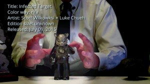 Scott Wilkowski's Infected Target - Figure