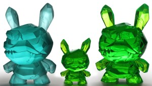 Shard Dunny Show - The Frost & Kryptonite Editions of the Shard Dunny