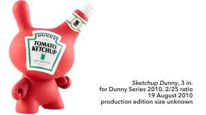 "Sket One Dunny - Sketchup 3"" Dunny, Dunny Series 2010, 2010"