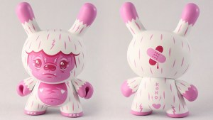 "Squink's Kono the Yeti 3"" Wild Ones Dunny, Bubblegumland Edition Hyperchase, 2018"