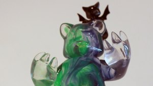 TaskOne's Cosmic Blue & Green (Resin version of Possessed by Luke Chueh & Munky King)