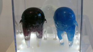 TaskOne's Blueberry, Clear & Grape Observers (Resin versions the figure by MARS-1 & STRANGEco)