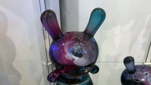 TaskOne's Ringed Planet Dunny (Resin version the Kidrobot figure)