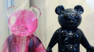 TaskOne's Pink Lemonade Dero (Resin version the figure by Jermaine Rogers, Wootini & STRANGEco)