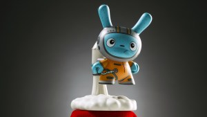 The Bots' Blast Off from the Designer Toy Awards Dunny Mini Series, 2017