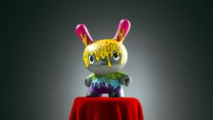 The Bots' Ooey Gooey from the Designer Toy Awards Dunny Mini Series, 2017