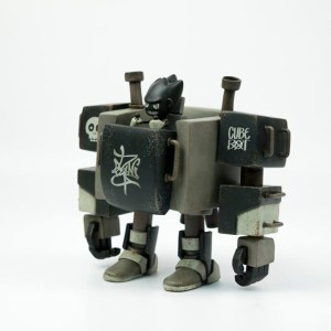 The Duang - Cube Bot - Skull Black