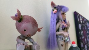 They Came From Planet Rainbow Sparkles - Louis Sophie / Nympheas Dolls' Tit'herbe
