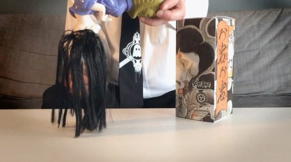 Three Tides Tattoo's Oiwa Oiwa - Figure's hair
