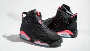 Air Jordan 6 Black/Infrareds, 2014 Retro